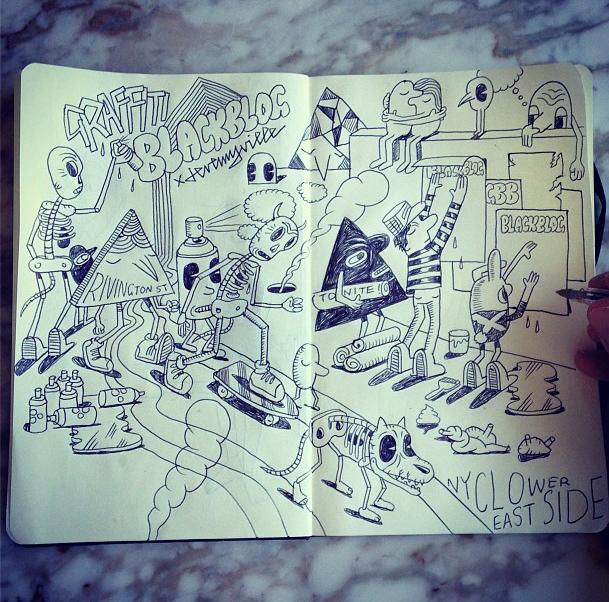 Drawing For Graffiti Blackblog A Street Art Blog Jeremyville
